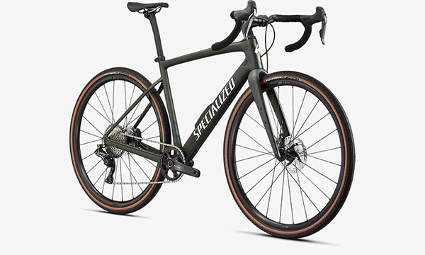 Specialized Diverge Expert Carbon Green Bike
