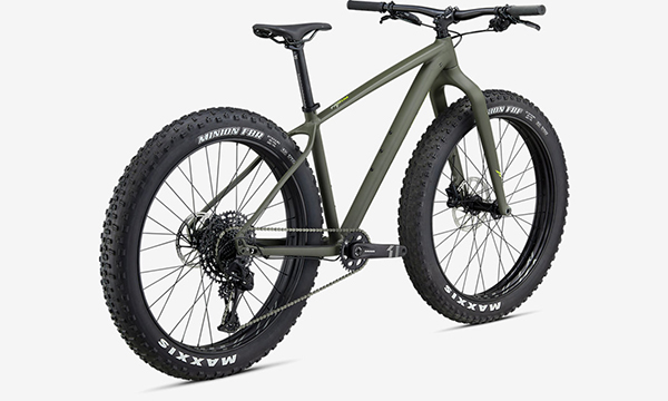 Specialized Fatboy Green Bike