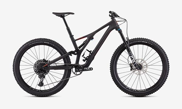Specialized Men's Stumpjumper Comp Carbon 27.5—12-Speed Black Bike