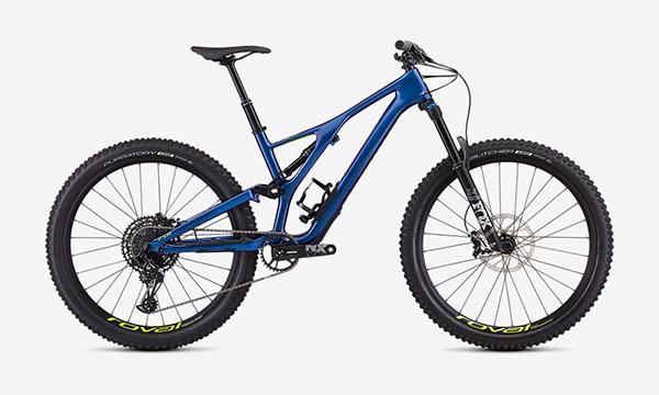 Specialized Men's Stumpjumper Comp Carbon 27.5—12-Speed Blue Bike