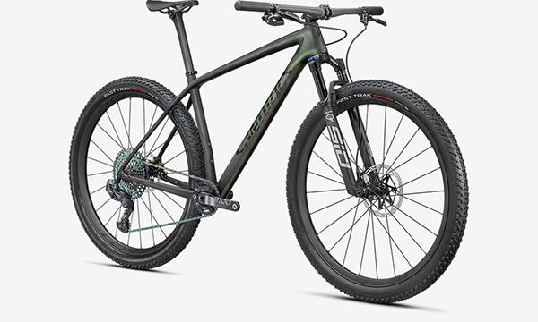 Specialized S-Works Epic Hardtail Green Bike