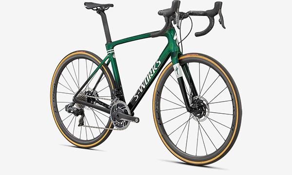 Specialized S-Works Roubaix – SRAM Red ETAP AXS Green Bike
