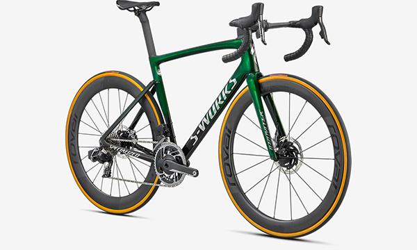 Specialized S-Works Tarmac SL7 - SRAM Red ETap AXS Green Bike